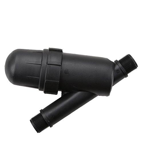 Jocestyle DN32PE 120 Mic Screen Filter Sprayer Filter and Fertilizer Applicator for Gardening Water Drip Irrigation 34 Inch