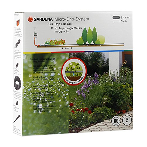 Gardena Micro-Drip Irrigation System to Keep the Garden Looking Great Without Wasting Water
