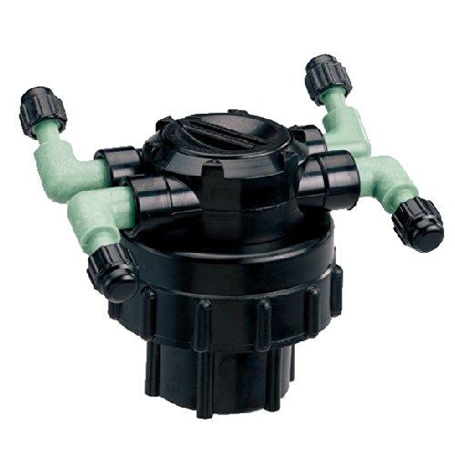 5 Pack - Orbit 4-port Drip Irrigation Manifold For 14&quot Tube