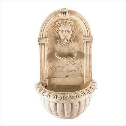 Lion Head Wall Fountain 32428
