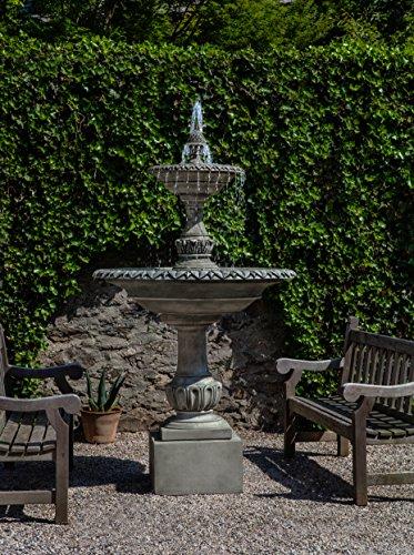 Campania International FT-256-AS Charleston Fountain Alpine Stone Finish