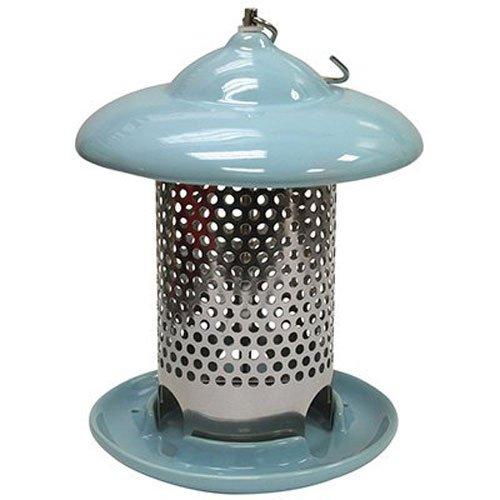 Heath Outdoor Products 20146 Bird Stop Ceramic Feeder Blue