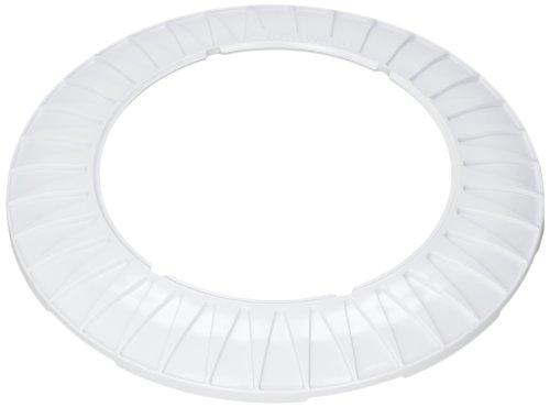Hayward LNVUY1000 White Starburst Pool Light Trim Ring Replacement for Hayward Universal ColorLogic or CrystaLogic LED Light Fixture