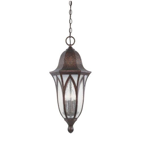 Designers Fountain 20634-BAC Berkshire Hanging Lanterns Burnished Antique Copper