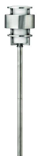 Hinkley Lighting 1579ss Saturn Path Light 18 Watt T5 Wedge Base Light Bulb Stainless Steel