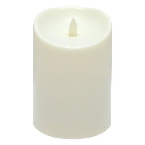 Luminara Flameless Candle - Vanilla Scented Outdoor Pillar - 375 X 5 Inches