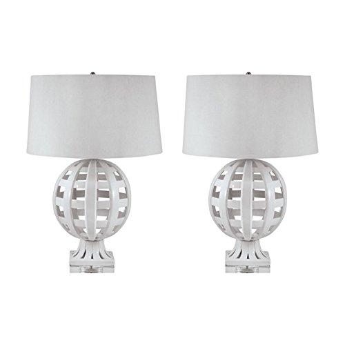 Lamp Works 274 Ceramic Table Lamp - Set Of 2