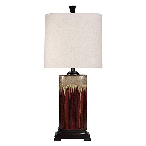 Stylecraft Ceramic Drip Glaze Table Lamp