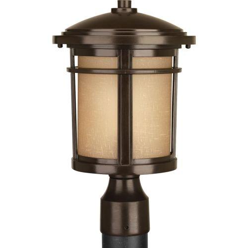 Progress Lighting P6424-2030k9 1-9w Led Post Lantern Antique Bronze