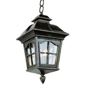 Trans Globe Lighting 5426 Ar 23-34-inch 4-light Outdoor Large Hanging Lantern Antique Rust