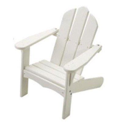 Personalized Kids Adirondack Chair Finish White Letter Finish Apple Green