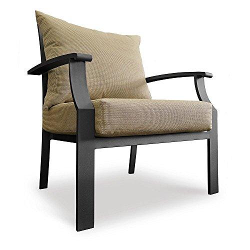 Chelsea Casual Chair Set Smoke Black