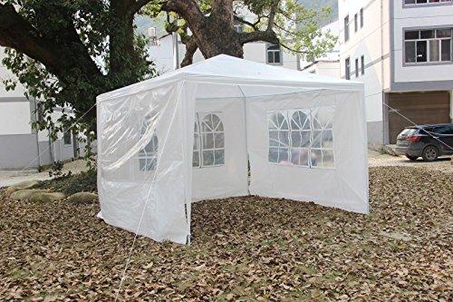 FCH 10x10 3 SideWalls Outdoor Patio Party Canopy Tent Wedding Outdoor Tent Heavy duty Gazebo Pavilion