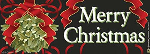 Merry Christmas Mistletoe Art-SnapsMagnetic Mailbox Art