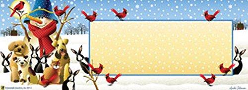 Winter Friends Primitive Mailbox  Door Magnet