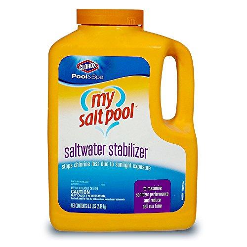 Clorox Pool&ampspa 80005clx My Salt Pool Saltwater Stabilizer 5-pound