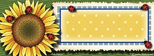 Sunflower Art-snaps&reg Magnetic Mailbox Art