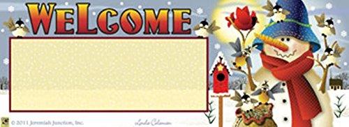 Winter Feast Snowman Art-snaps&reg Magnetic Mailbox Art