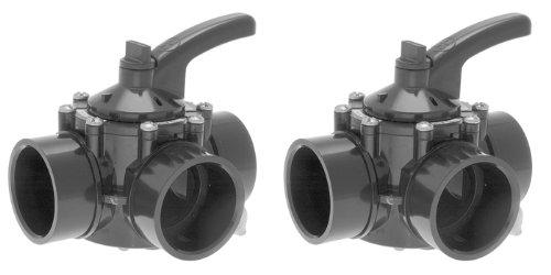 Hayward 3 Port 2-25 Diverter Valve - PSV3S2DGR - 2 PACK
