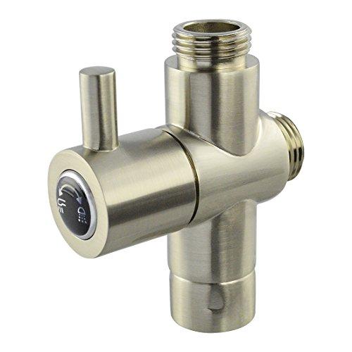 Taozun Thickening Solid Brass Shower Arm Diverter Valve 12 Inch Ips Shower System Component Replacement Part