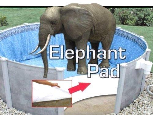 15x24 Ft Oval Pool Liner Pad Elephant Guard Armor Shield Padding