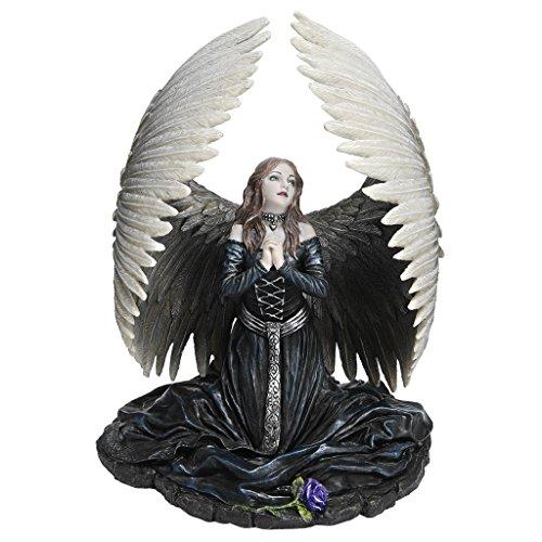 Design Toscano Prayer For The Fallen Angel Halloween Statue By Artist Anne Stokes