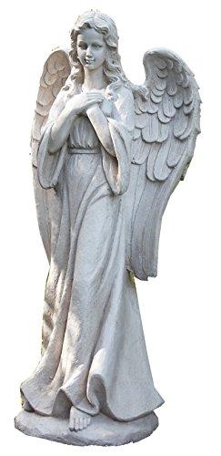 Napco 17968 Tall Praying Angel Garden Statue 3225&quot