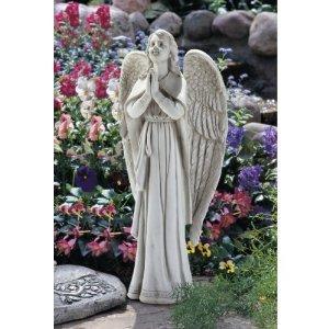 33 Divine Guidance Praying Angel Garden Statue