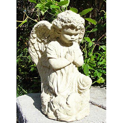 Vintage Praying Angel Garden Statue