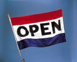 5 X 3 Flag - Open