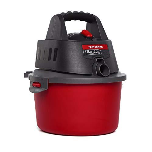 CRAFTSMAN CMXEVBE17250 25 gallon 175 Peak Hp WetDry Vac Portable Shop Vacuum with Attachments