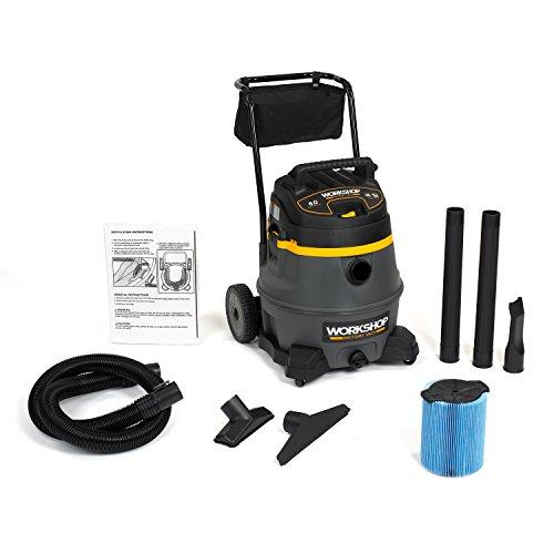 WORKSHOP Wet Dry Vac WS1400CA High Power Wet Dry Vacuum Cleaner 14-Gallon Shop Vacuum Cleaner 60 Peak HP Wet And Dry Vacuum