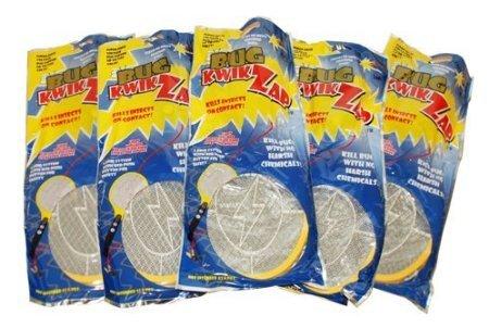 BugKwikZap Bug Zapper Electric Fly Swatter  Model - Base  2 AA Batteries  Light  5PK
