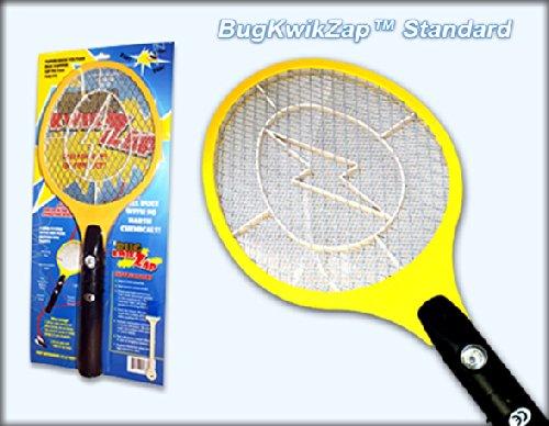 BugKwikZap Bug Zapper Electric Fly Swatter  Model - Standard  2 AA Batteries  Light  1PK