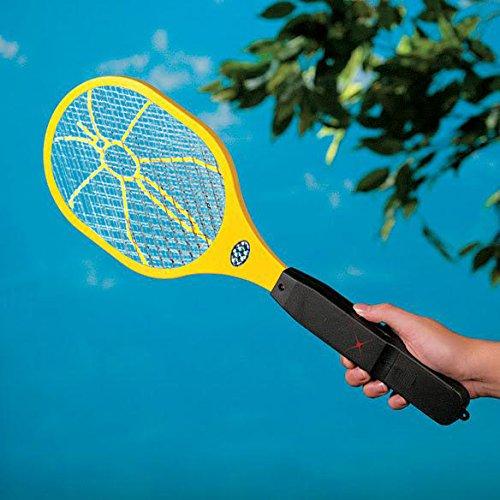 Electronic Bug Zapper Zaps Racket Fly Swatter Mosquito Killer - Best Indoor Outdoor Pest Control