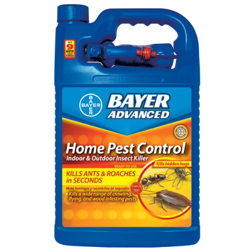 Bayer Advanced 502795 Home Pest Control Indoor and Outdoor Insect Killer Ready-To-Use 1-Gallon