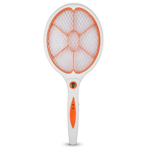 YT Indoor OutDoor Bug Zapper Mosquito Swatter RacketOrange