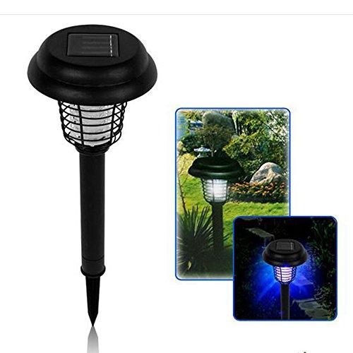 SG-SL-05 Solar Bug Zapper LED UV Light Solar Mosquito Killer Light Lawn Light Garden Lights Yard Lamp Light Control Outdoor Decorative Lights Pin Lamp