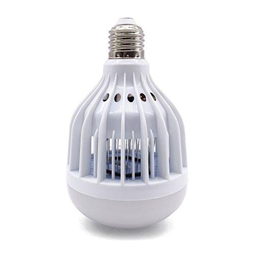 Nu Wa 2-in-1 E26E27 LED Bug Zapper Light Bulb UV Mosquito Killer NatureDay Bright