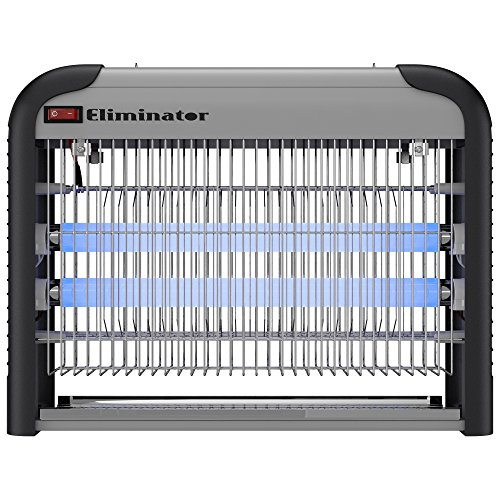 Eliminator Electronic Fly and Bug Zapper - 20 Watts Protects 5000 Sq Ft  Exterminates All Insect Pests - For Residential Industrial and Commercial Use