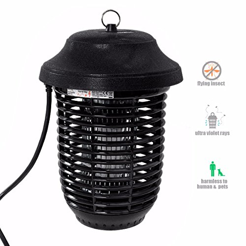 Insect Killer Zapper- 40w Bulbs Super Strong Zapper - Homecommercial- Bug Zapper- Mosquito Killer- Waterproof