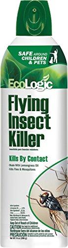 EcoLogic HG-75001-1 Flying Insect Killer Aerosol 14 oz 12 Pack