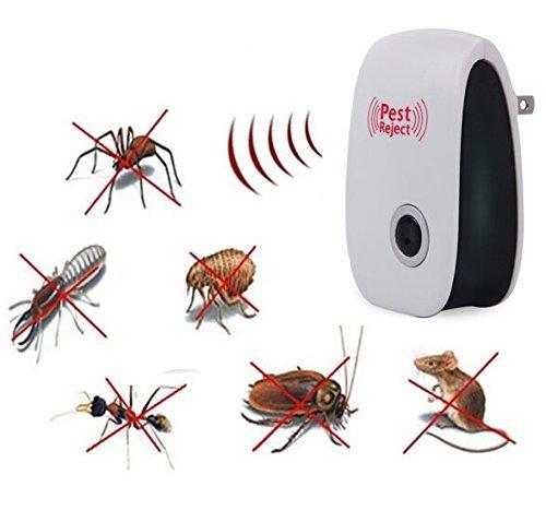 Vkopa Pest Repeller Ultrasonic - Professional Electronic Pest Repellent Control Repels Miceratsflymothsmosquito