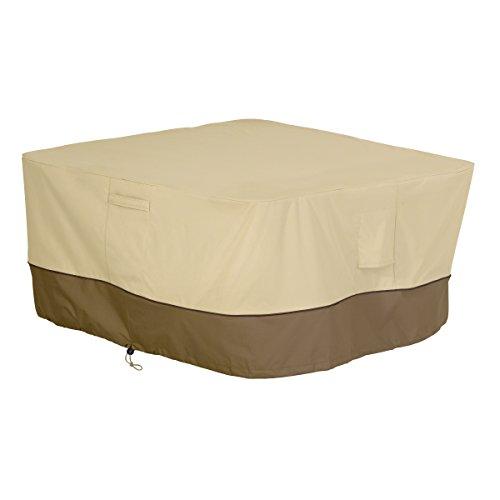 Classic Accessories 55-407-011501-00 Veranda Square Fire PitTable Cover 42-Inch