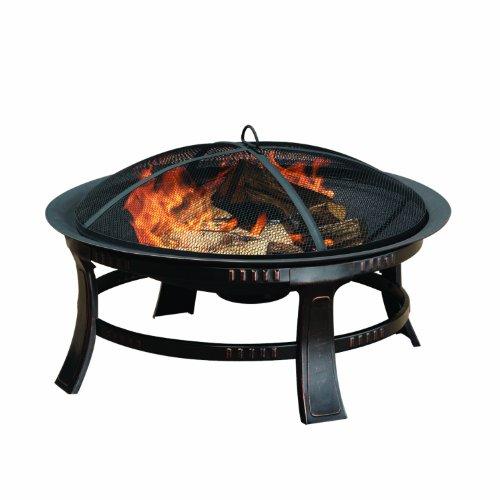 Pleasant Hearth Brant Round Fire Pit 30-inch