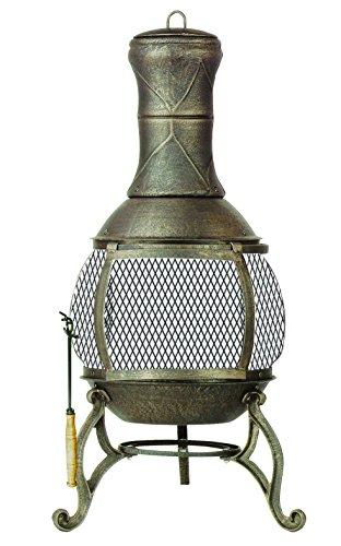 Deckmate Corona  Outdoor Chimenea  Fireplace Model  30075