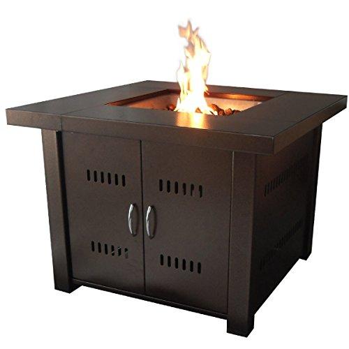 GoplusOutdoor Fire Pit Patio Heater Bowl Steel Fireplace Propane Gas Backyard
