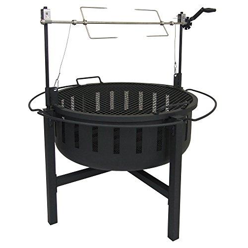 Landmann USA 23960 Grill Rotisserie Fire Rock Fire Pit