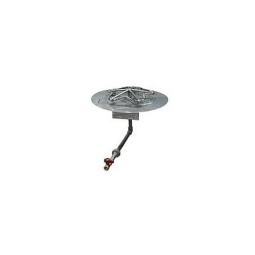 Flex Line ML 30 Round Flat Pan Fire Pit Insert - LP