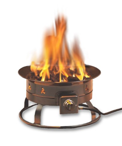 Heininger 5995 58000 Btu Portable Propane Outdoor Fire Pit
